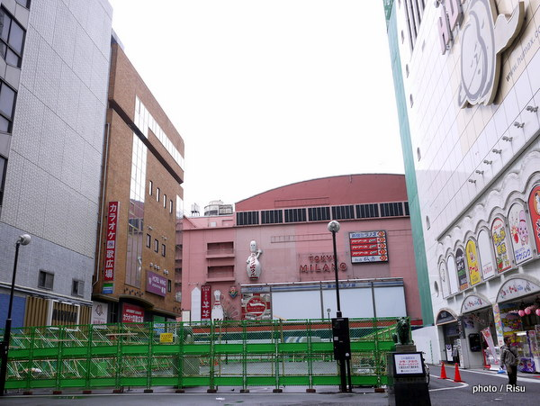 "Views of around of "" Toho Cinemas Shinjuku ""新宿TOHO 歌舞伎町周辺"