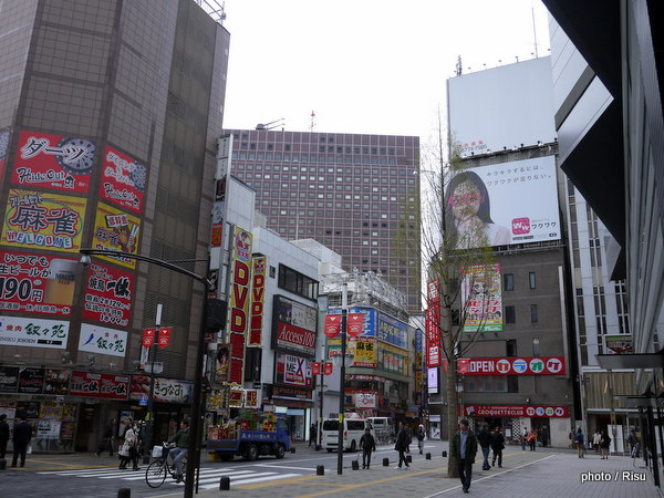 "新宿TOHOからみた歌舞伎町周辺 Views of around of "" Toho Cinemas Shinjuku """
